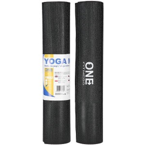 Mata do jogi One Fitness YM02 6 mm czarny