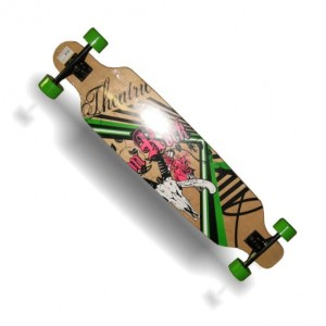 Deskorolka Longboard Crazy City PW-509